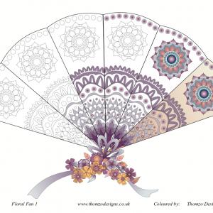 Floral Fan – free download