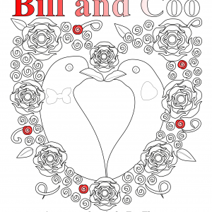 Bill and Coo – a colouring in story book available on Amazon